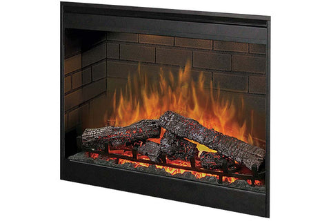 Image of Dimplex 30 Inch Plug-In Electric Firebox - Fireplace - Heater - DF3015 - Electric Fireplaces Depot