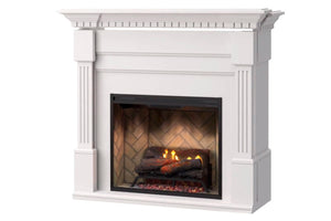 Dimplex Christina Electric Fireplace MANTEL ONLY in White
