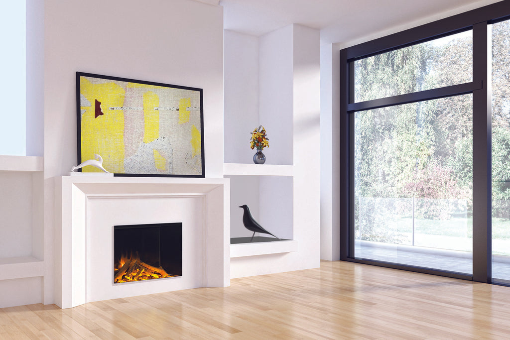 Electric Modern Evonicfires 32'' Built-In Electric Fireplace / Firebox - E32H