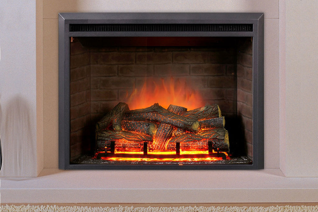 Dynasty Forte 32 Inch Built-In Electric Fireplace Insert | Electric Firebox | DY-EF44 | Dynasty Fireplaces | Electric Fireplaces Depot