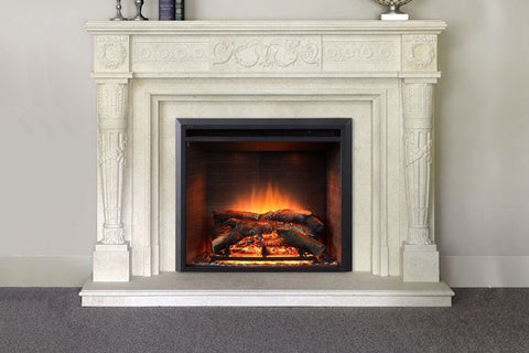 Dynasty Forte 35 Inch Built-In Electric Fireplace Insert | Electric Firebox | DY-EF45 | Dynasty Fireplaces | Electric Fireplaces Depot