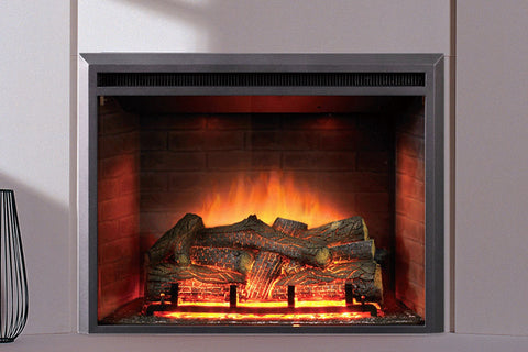 Image of Dynasty Forte 35 Inch Built-In Electric Fireplace Insert | Electric Firebox | DY-EF45 | Dynasty Fireplaces | Electric Fireplaces Depot