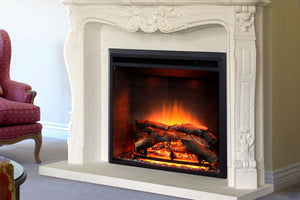 Dynasty Forte 35'' Built-In Electric Fireplace Insert