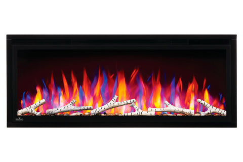 Image of Napoleon Entice 34 inch Wall Mount Recessed Linear Electric Fireplace | Built in Electric Insert | NEFL34CFH | Electric Fireplaces Depot