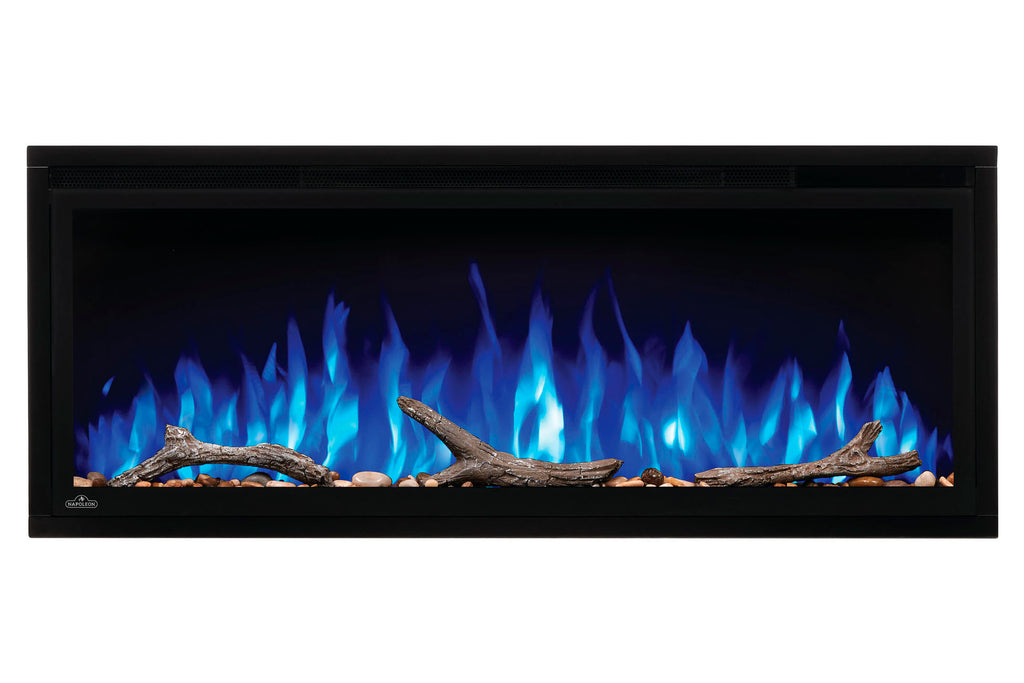Napoleon Entice 34 inch Wall Mount Recessed Linear Electric Fireplace | Built in Electric Insert | NEFL34CFH | Electric Fireplaces Depot