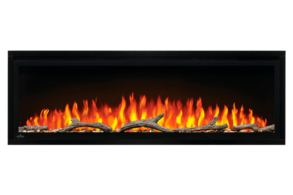 Napoleon Entice 50 inch Wall Mount Recessed Linear Electric Fireplace | Built in Electric Insert | NEFL50CFH | Electric Fireplaces Depot
