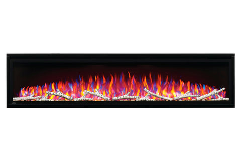 Napoleon Entice 72 inch Wall Mount Recessed Linear Electric Fireplace | Built in Electric Insert | NEFL72CFH | Electric Fireplaces Depot