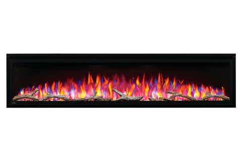Image of Napoleon Entice 72 inch Wall Mount Recessed Linear Electric Fireplace | Built in Electric Insert | NEFL72CFH | Electric Fireplaces Depot
