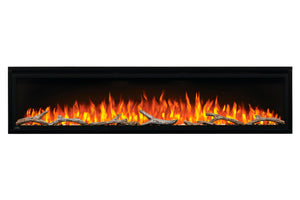 Napoleon Entice 72'' Wall Mount | Fully Recessed Electric Fireplace