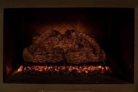 Image of Modern Flames 20'' Sunset Charred Oak Electric Log Insert - No Heat