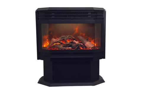 Image of Sierra Flame Freestanding Electric Fireplace - Heater - Logs Set - Electric Fireplaces Depot