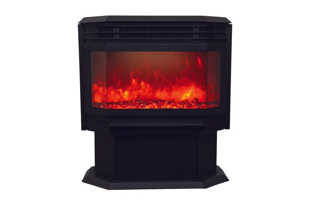 Sierra Flame Freestanding Electric Fireplace - Heater - Logs Set - Electric Fireplaces Depot