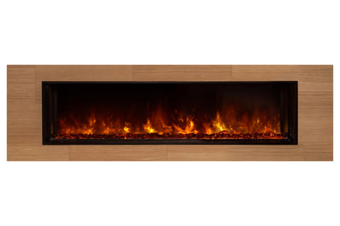 "Image of Modern Flames Landscape Full View 60"" Built-In Linear Electric Fireplace - Electric Fireplaces Depot"