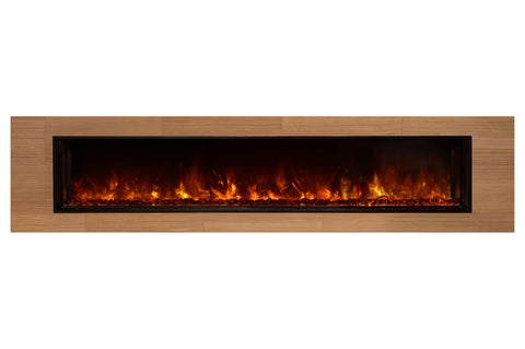 Image of Modern Flames Landscape Full View 80 inch Built-In Linear Electric Fireplace - Electric Fireplaces Depot