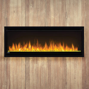 Napoleon Alluravision 42-inch Linear Wall Mount Electric Fireplace - Slim - NEFL42CHS - Electric Fireplaces Depot