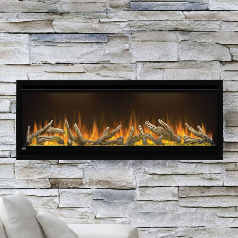 Napoleon Alluravision 50-iInch Electric Fireplace - Wall Mount - Deep - Linear - NEFL50CHD - Electric Fireplaces Depot