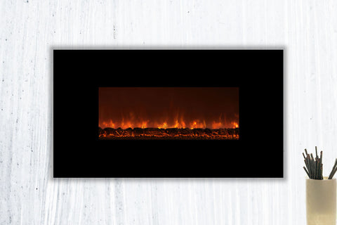 Modern Flames Ambiance 45'' Wall Mount Electric Fireplace
