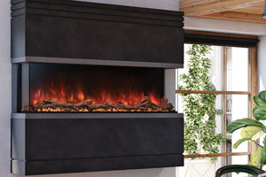 Modern Flames Landscape Pro Multi 56-inch 3-Sided / 2-Sided Built In Electric Fireplace
