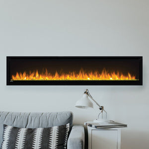 Napoleon Alluravision 60-Inch Wall Mount Electric Fireplace - Slim - Linear - NEFL60CHS - Electric Fireplaces Depot