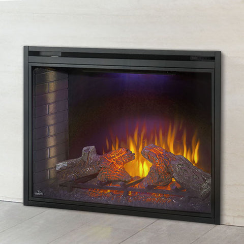 Image of Napoleon Ascent 40 inch Built In Electric Fireplace Insert - Electric Firebox Insert - NEFB40H - Electric Fireplaces Depot