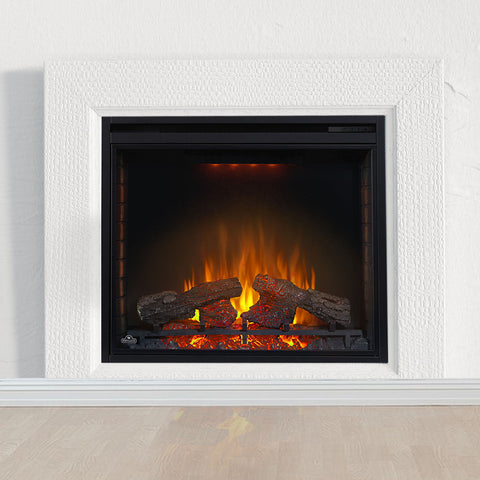 Napoleon Ascent 33 inch Built In Electric Fireplace Insert - Electric Firebox Insert - NEFB33H - Electric Fireplaces Depot