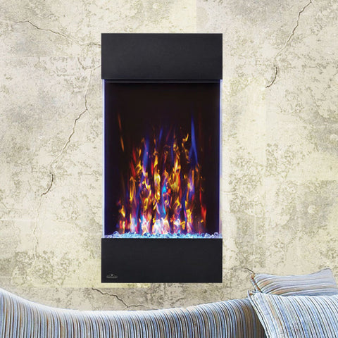 Napoleon Allure Vertical 32'' Wall Hanging Electric Fireplace