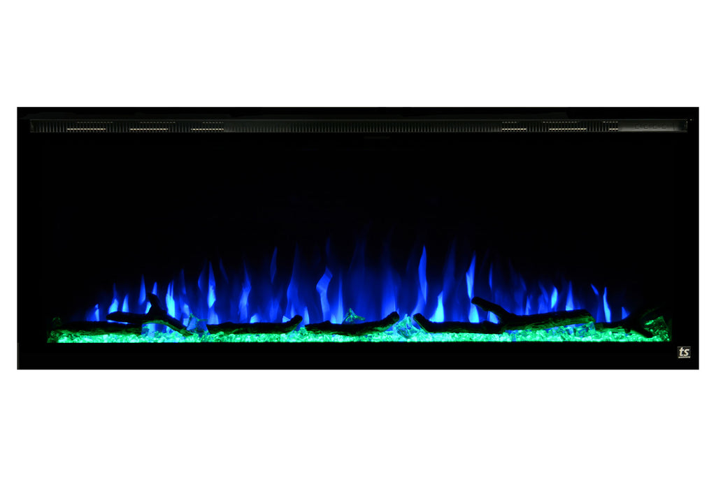 "Touchstone Sideline Elite 50"" Built-In Electric Fireplace"