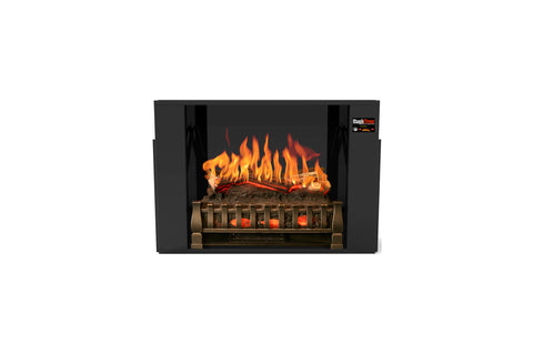 Image of Magik Flame Electric Fireplace Insert with Heater and Logs - Realistic Flames - Crackling Sound - Electric Fireplaces Depot