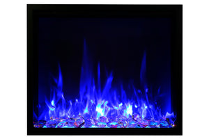Amantii Traditional Series 48-Inch Built-In Electric Firebox Insert