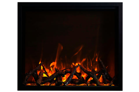 Image of Amantii Traditional Series 48-Inch Built-In Electric Firebox Insert