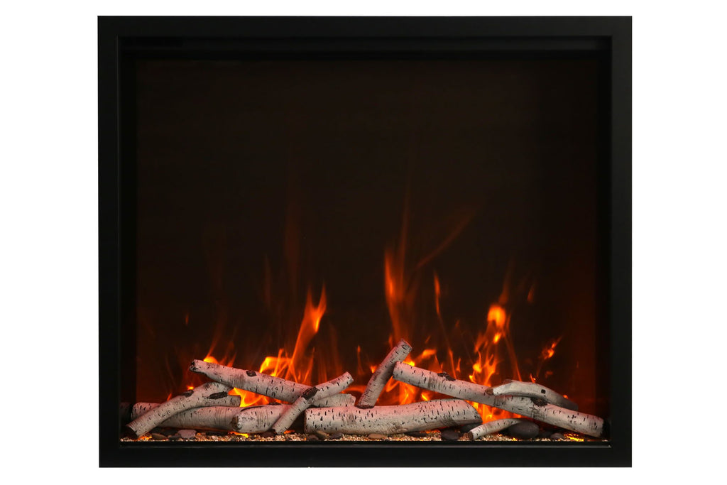 Amantii Traditional Series 44 Inch Built-In Electric Firebox Insert | Electric Fireplace Heater | TRD-44 | Electric Fireplaces Depot