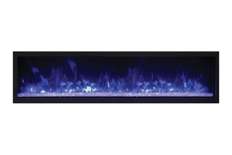 Remii 65'' Extra Slim Built-In Electric Fireplace - Heater - Outdoor - Electric Fireplaces Depot