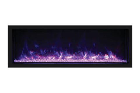 Remii 65 inch Extra Tall Built-In Electric Fireplace - Heater - Modern - Electric Fireplaces Depot