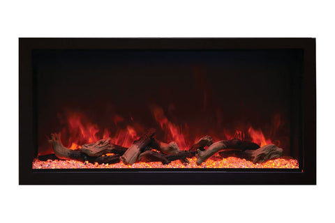 Remii 45 inch Extra Tall Built-In Electric Fireplace - Heater - Modern - Electric Fireplaces Depot
