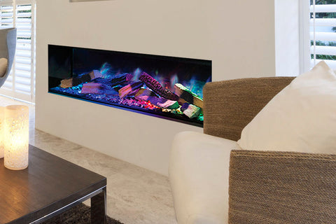Image of European Home Evonicfires 60 Inch Linnea Halo Series Built-In Linear Electric Fireplace | EV-FP-Halo-LINNEA | Electric Fireplaces Depot