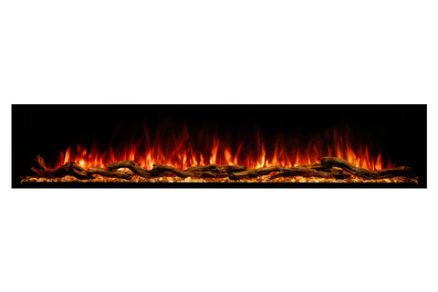Modern Flames Landscape Pro Multi 80-inch 3 Sided and 2 Sided Built In Wall Mount Linear Electric Fireplace | LPM-8016 | Electric Fireplaces Depot