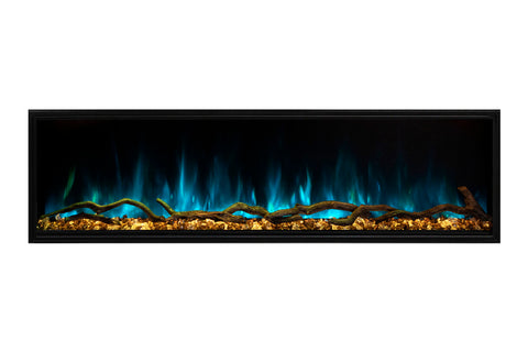 Modern Flames Landscape Pro Slim 68-inch Built In Wall Mount Linear Electric Fireplace | LPS-6814 | Electric Fireplaces Depot