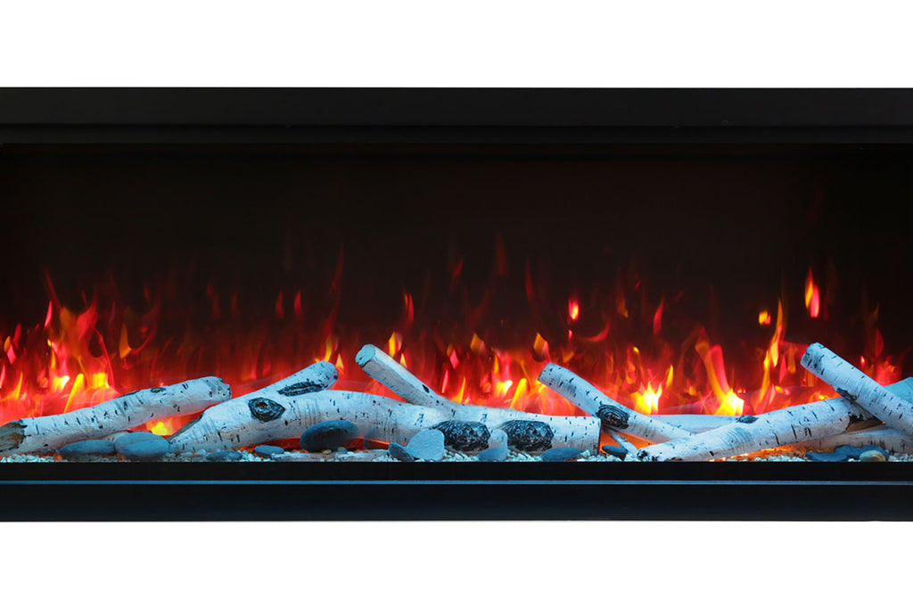 Remii 45 inch Extra Tall Built-In Indoor Outdoor Electric Fireplace | Heater | 102745-XT | Electric Fireplaces Depot