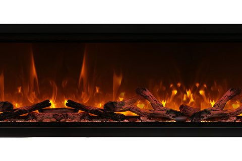 Remii 55 inch Extra Tall Built-In Indoor Outdoor Electric Fireplace | Heater | 102755-XT |  Electric Fireplaces Depot