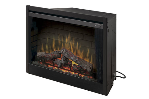 Dimplex 33 inch Deluxe Electric Fireplace Insert - Firebox - Heater - BF33DXP - Electric Fireplaces Depot