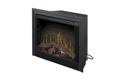 Image of Dimplex 33 inch Deluxe Electric Fireplace Insert - Firebox - Heater - BF33DXP - Electric Fireplaces Depot