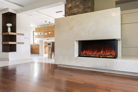 Modern Flames Landscape Pro Multi 68-inch 3 Sided and 2 Sided Built In Wall Mount Linear Electric Fireplace | LPM-6816 | Electric Fireplaces Depot