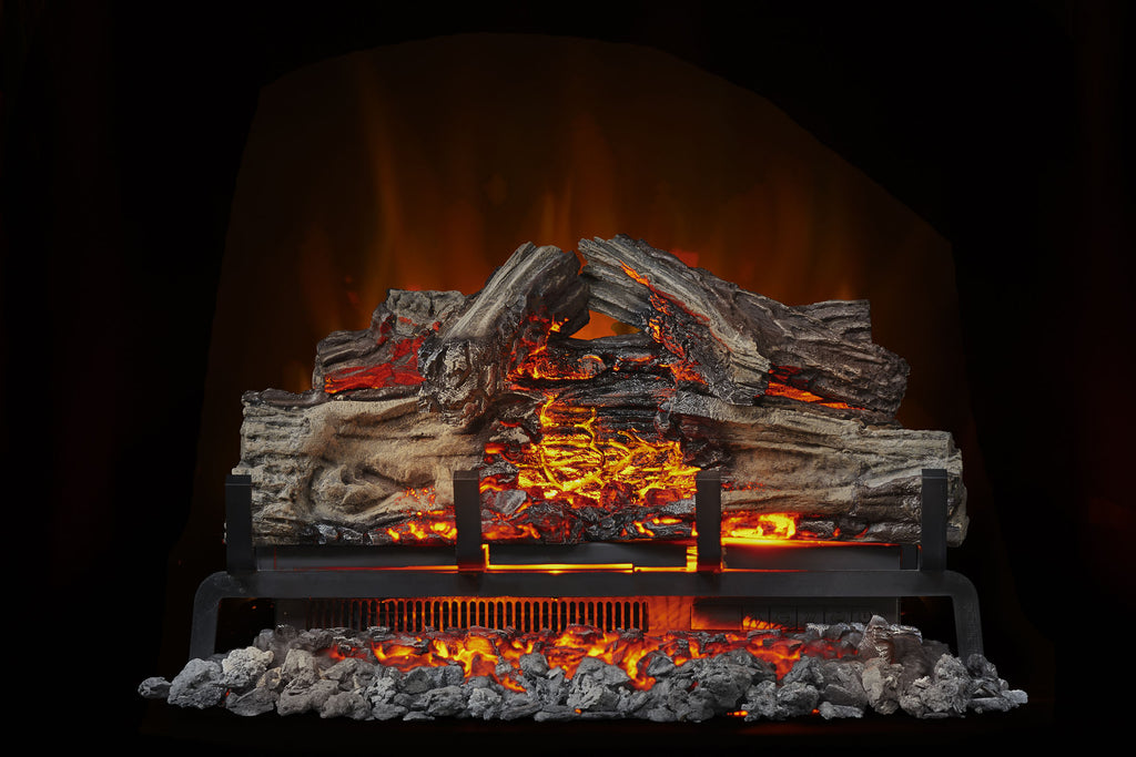 Super Napoleon Woodland 24 Electric Fireplace Log Insert Home Interior And Landscaping Elinuenasavecom