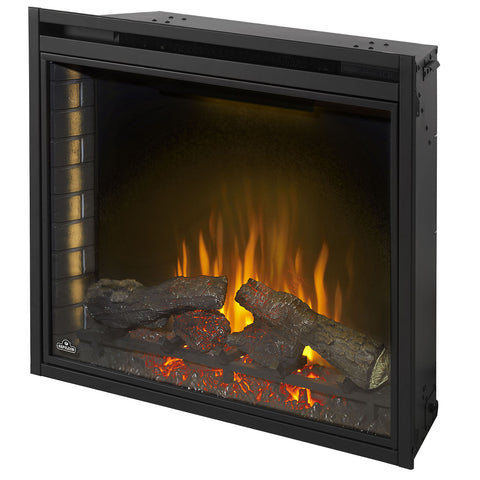 Image of Napoleon Ascent 33 inch Built In Electric Fireplace Insert - Electric Firebox Insert - NEFB33H - Electric Fireplaces Depot