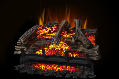 Image of Napoleon Woodland 27 Inch Electric Fireplace Log Insert - Heater - Log Set - NEFI27H - Electric Fireplaces Depot