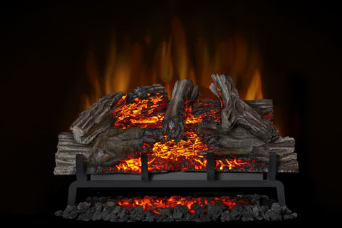 Napoleon Woodland 27 Inch Electric Fireplace Log Insert - Heater - Log Set - NEFI27H - Electric Fireplaces Depot