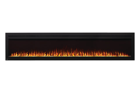 Image of Napoleon Purview 100 Inch Wall Mount Built In Recessed Electric Fireplace | NEFL100HI | Pureview Electric Insert | Electric Fireplaces Depot