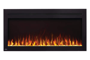 Napoleon PurView 42'' Wall Mount Built In Electric Fireplace