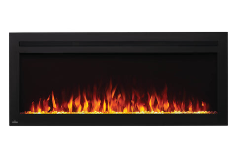 Image of Napoleon PurView 50 Inch Wall Mount Built-In Recessed Electric Fireplace | NEFL50HI | Pureview Electric Insert | Electric Fireplaces Depot