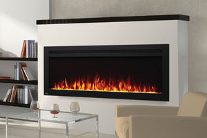 Napoleon PurView 50 Inch Wall Mount Built-In Recessed Electric Fireplace | NEFL50HI | Pureview Electric Insert | Electric Fireplaces Depot
